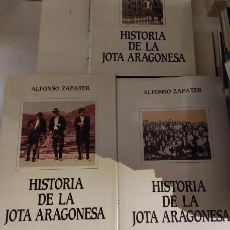 HISTORIA DE LA JOTA ARAGONESA 3 Tomos