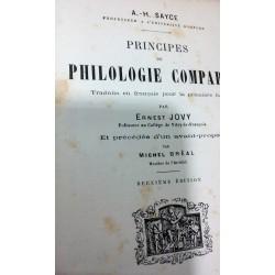 PRINCIPES DE PHILOLOGIE COMPAREÉ