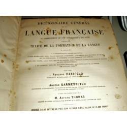 DICTIONNAIRE  GENERAL DE LA LANGUE FRANCAISE