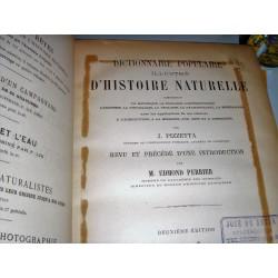 DICTIONNAIRE  ILLUSTRE D'HISTORIE NATURELLE