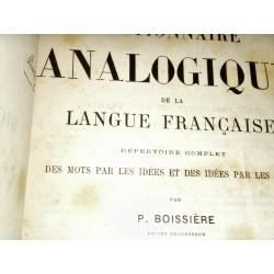 DICTIONNAIRE ANALOGIQUE DE LA LANGUE FRANCAISE