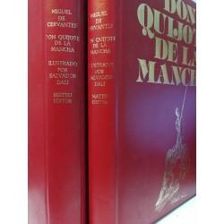 DON QUIJOTE DE LA MANCHA  ( 2 Tomos)