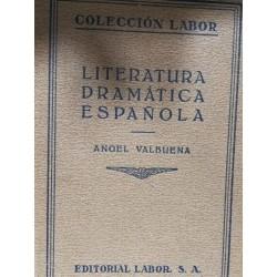 LITERATURA DRAMÁTICA ESPAÑOLA Colección LABOR Biblioteca de Iniciación Cultural